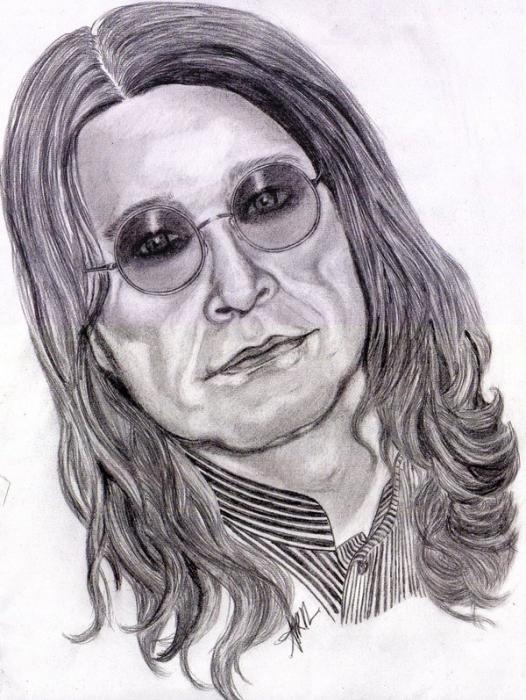 Ozzy Osbourne by Gemini58